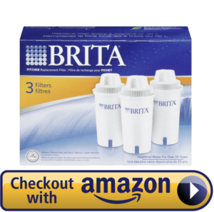 Count 3 Brita water Filter Pitcher Cartridges