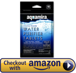 The aquamira water purification tablets
