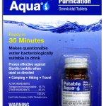 aquapure water purification tablets