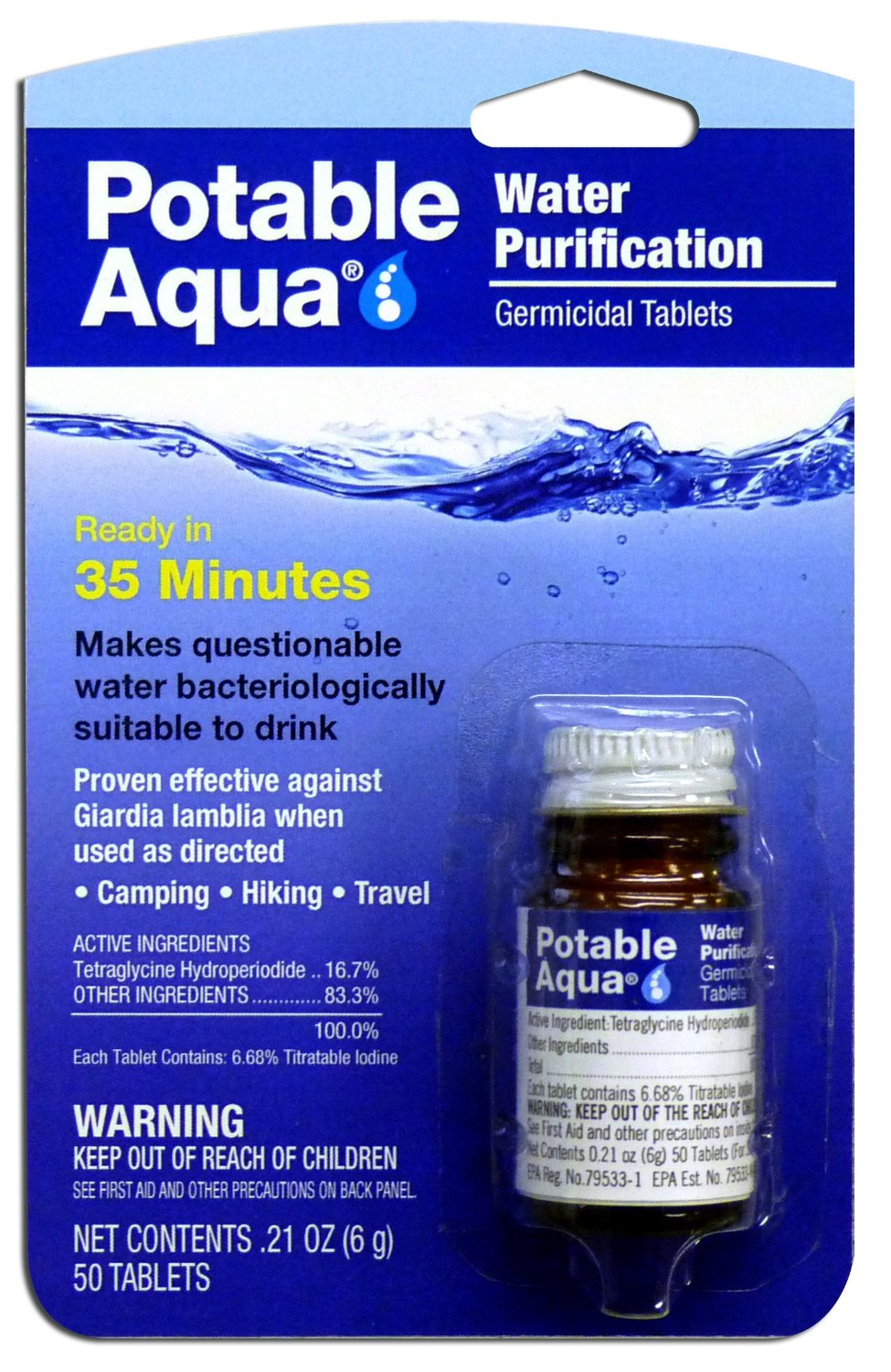 Emergency Best Water Purification Tablets Water Filters