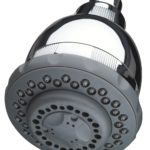 Culligan WSH-C125 Wall-Mount 10,000 Gallon Capacity Filtered Showerhead