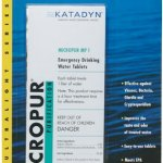 Katadyn water tablets
