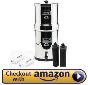 Berkey Big BK4X2 Countertop Water Filter System